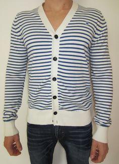 Kaufe meinen Artikel bei #Kleiderkreisel http://www.kleiderkreisel.de/herrenmode/cardigans/96927178-schoner-gestreifter-cardigan-von-g-star-gr-l