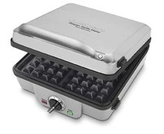 """Enter our giveaway, and you'll automatically be eligible to win a Cuisinart Waffle and Pancake Maker. <strong><span style=""""color: #b32025"""">You can enter up to two (2) times per e-mail address per day.</span></strong> Deadline 6.15.16."""