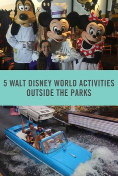 From food and rides at Disney Springs to character breakfasts, we've got all the tips you need for how to have fun on your Walt Disney World vacation outside of the parks.