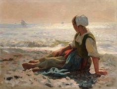 Laurits Tuxen - Gazing out to sea