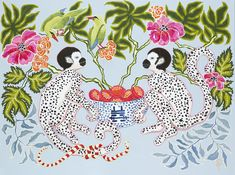 If you're a fan of Palm Beach and chinoiserie, then I have an artist for you. I first discovered the work of Paige Gemmel on Etsy, but as it sells out quickly, was thrilled to spot these new …