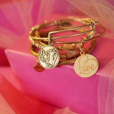 ALEX AND ANI VALENTINES DAY COLLECTION   Hooked On You   Because I Love You Charm bangle   Love Color Infusion Charm bangle