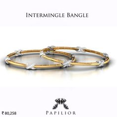 Bella idea per fedine, anelli in oro o falangine Nice nice nice! Gold Jewelry Simple, Gold Rings Jewelry, Jewelery, Gold Bangles Design, Jewelry Design, Diamond Bangle, Diamond Jewelry, Wedding Jewelry, Jewelry Collection