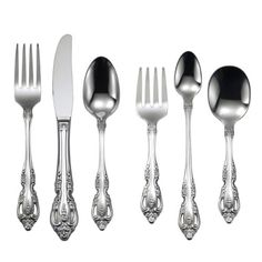 oneida silverware sets i love to give these as new baby gifts this brahms pattern matches my good silverware