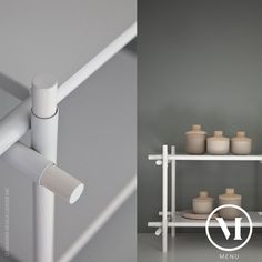 Stick System Shelf Design by Jan Plechac & Henry Wielgus for Menu Stick System is a beautiful and versatile shelving system by Menu. Light steel plates of the Stick System are…