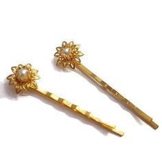 Pearl Hair Pins-Pearl Bobby Pins-Pearl Hair Slides-Wedding