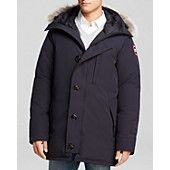 Canada Goose Chateau Parka with Fur Hood - Navy