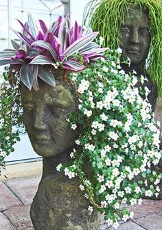 Inspire Bohemia: Stoneface Creations: Garden Planters