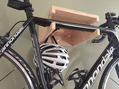 The Brook Bike Shelf™ // Bike Rack // Reclaimed Wood - Fahrrad Garage Organization, Garage Storage, Kayak Storage, Brooks Bike, Rack Velo, Bicycle Rack, Bicycle Shop, Garage Velo, Wall Mount Bike Rack
