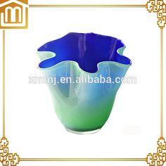 Decorative Items, Decorative Bowls, Murano Glass Vase, Creative Arts And Crafts, Xiamen, Hotel Decor, Antique Glass, Custom Art, Decor Crafts