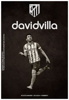 David Villa Poster Please Like, Invite, Spread Awareness http://lnkd.in/dw2M57u & Follow http://lnkd.in/dYJ5CB7 Chesterfield´s feeder club http://www.chesterfield-fc.co.uk/news/article/20140815-spireites-in-gibraltar-link-up-1822141.aspx . Gracias/Thanks