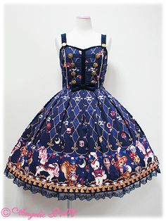 Toy March JSK in navy - Angelic Pretty