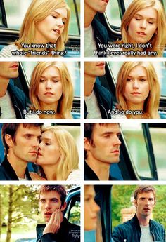 Haven, Season 1. The first time Nathan felt Audrey's touch.