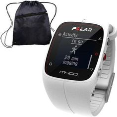 Polar 90051342  M400 GPS Training Companion Without Heart Rate with Bag  White ** Continue to the product at the image link.(This is an Amazon affiliate link and I receive a commission for the sales)
