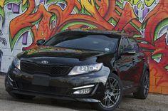 Nice Kia 2017 - Kia Optima SX with Graffiti Background. Kia Optima Turbo, Dream Cars, Badass, Chevy, Graffiti, Racing, Wheeling, Trucks, Vehicles