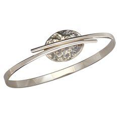 Ed Levin Bracelets BR195 - FLIRT - Sterling Silver Bracelet - Hawkins House Craftsmarket, Bennington, VT