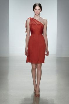Bridesmaids dress- this is pretty cute Amsale Style #G778C in Spice