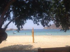 Aegiali Beach Amorgos islaand