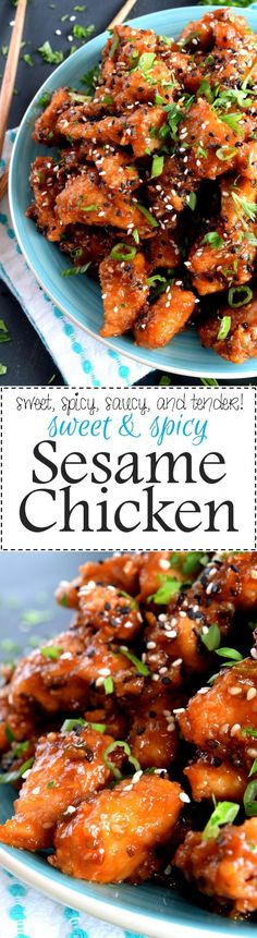 Sweet and Spicy Sesame Chicken is a home-style version of a classic Chinese restaurant take out dish.  With a little spice and a little sweet, this dish is sure to please everyone's personal tastes! Can I share a little truth…
