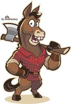 Axe Throwing Venue & Bar Logo » SOSFactory Mascot Design, Logo Design, Michael Roberts, Bar Logo, Cartoon Logo, Logos, Axe, Scooby Doo, Screen Printing