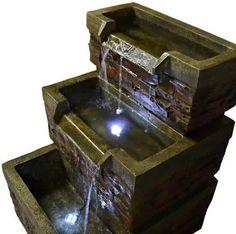 Waterornament waterval vijver accessoires Fontein Waterval