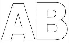 Moldes De Letras Para Imprimir Do Alfabeto Pictures Alphabet Letter Templates, Letter Stencils, Football Coloring Pages, Applique Letters, Bubble Letters, Writing Worksheets, Letters And Numbers, Printables, Elsa