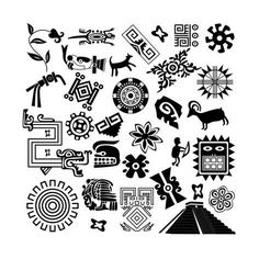 Buy Ancient American design elements by on GraphicRiver. Vector of ancient American design elements on white. Package contains: EPS version), JPG pixels, RGB) Native Art, Native American Art, American Symbols, American History, Aztec Symbols, Viking Symbols, Egyptian Symbols, Viking Runes, Ancient Symbols