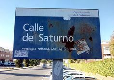 El Astronauta de Valdemoro - Calle de Saturno - Valdemoro