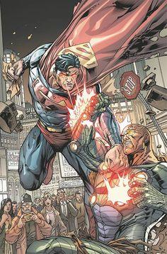 "#Superman #Fan #Art. (DC Universe Online Legends. ""Enemies"" Vol.1#13 Cover) By: Howard Porter & John Livesay & Jorge Gonzalez. (THE * 5 * STÅR * ÅWARD * OF: * AW YEAH, IT'S MAJOR ÅWESOMENESS!!!™)[THANK U 4 PINNING!!!<·><]<©>ÅÅÅ+(OB4E)"