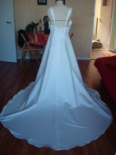 Robe de mariée T44 d'occasion à Besançon