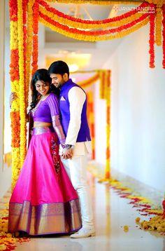 The Super Extravagant Telugu Wedding Replete With Glitz & Glamour Engagement Dress For Groom, Couple Wedding Dress, Indian Wedding Couple, Bridal Poses, Wedding Poses, Wedding Photoshoot, Wedding Couples, Indian Wedding Photography Poses, Couple Photography Poses
