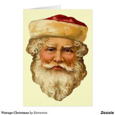 Vintage Victorian Christmas Die Cut Clip Art - Santa - Day 17 - The Graffical Muse Victorian Christmas, Father Christmas, Christmas Paper, Santa Christmas, Christmas Crafts, Christmas Decorations, Christmas Ornaments, Retro Christmas, Christmas Christmas