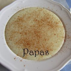 With Love from the Kitchen : Papas / Portuguese Porridge