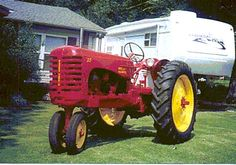 Antique Massey Harris Combine | Massey Harris 30