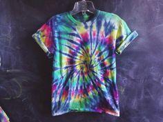 READY TO SHIP! Rainbow tie dye - small