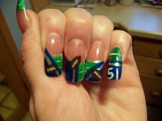 seattle seahawks nails | Nails By Ronda