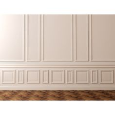 Elevate a Space with Magnificent Moulding and Wood Wall Art ❤ liked on Polyvore featuring backgrounds and interiors
