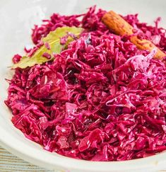 Red cabbage from Tim Mälzer& recipe - Recipe: Tim Mälzer red cabbage - Curry D'aubergine, Red Cabbage Recipes, Creamy Shrimp Pasta, Cooked Cabbage, Cookies Et Biscuits, How To Cook Pasta, Carne, Food And Drink, Dinner Recipes