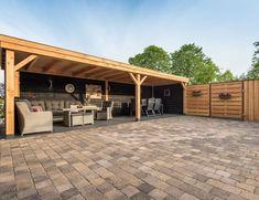 Backyard Cabin, Garden Cabins, Backyard Pavilion, Backyard Plan, Backyard Pergola, Diy Patio, Backyard Landscaping, Gazebo, Canopy Outdoor