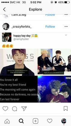 I am crying . I want the same bond BTS have with their members