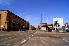 World Pictures From My Lens: Empty Street in Stuttgart