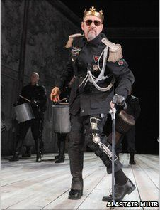 """Sam Mendes has said Richard III is """"a role I think Kevin was born to play"""" (from BBC news online)"""