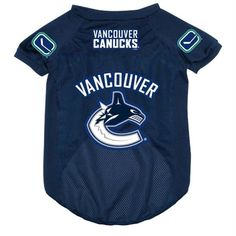 Vancouver Canucks Pet Jersey