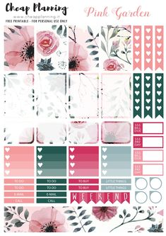 STICKERS 009 #scrapbookprintables