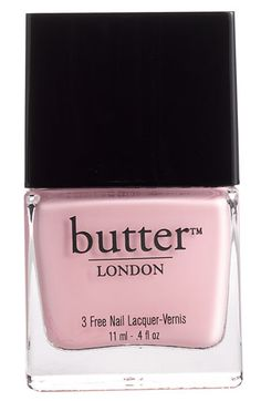 butter LONDON '3 Free' Nail Lacquer Teddy Girl | More pastel lusciousness here: http://mylusciouslife.com/prettiness-luscious-pastel-colours/