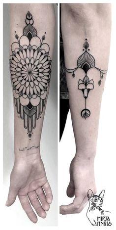 Tatouage réalisé par Mirja Fenris