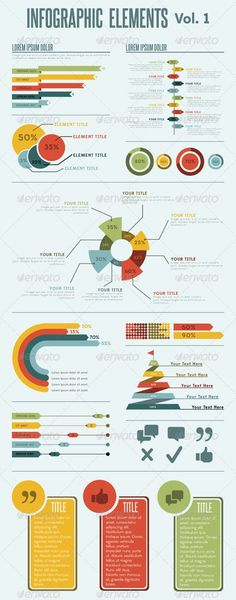 Infographic Elements - Vol. 1 - GraphicRiver Item for Sale #Infographics