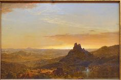Cross in the Wilderness by Frederic Edwin Church, 1857 AD