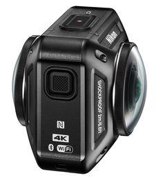 니콘, 360도 촬영 지원의 액션 카메라 KeyMission 360 발표 - 디카뉴스