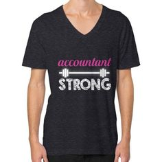 Accoutant strong V-Neck (on man)